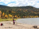 Shore of Twin Lakes in Twin Lakes, CO